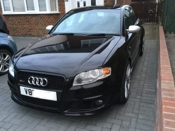 Audi RS4 B7 Phantom Black 4.2L V8